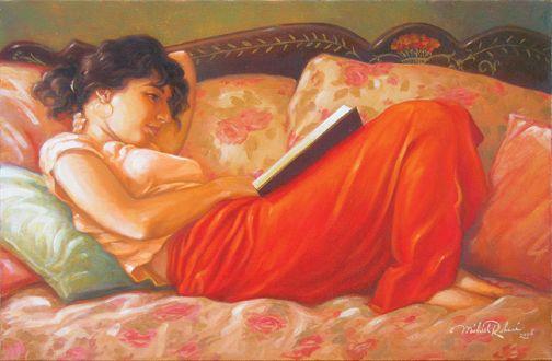 Michael Rohani. Retrato de Mushka