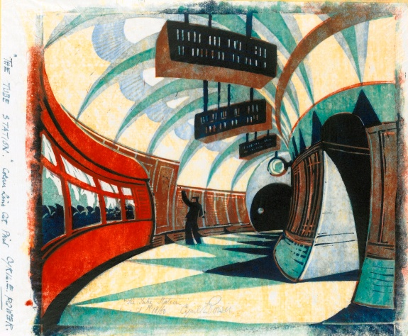 The tube station
