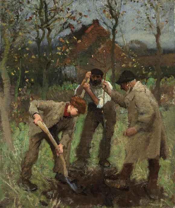 sir_george_clausen_ra_rws_planting_a_tree_d5396451g