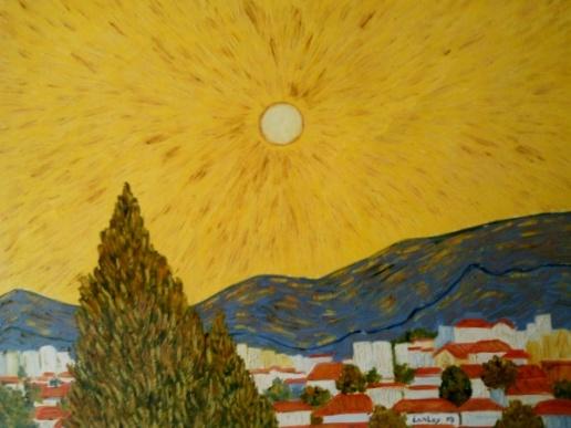 Carlos Raposo, `Dia de Sol em São Gonçalo, 50x60, OST, CID, sem moldura, 2007
