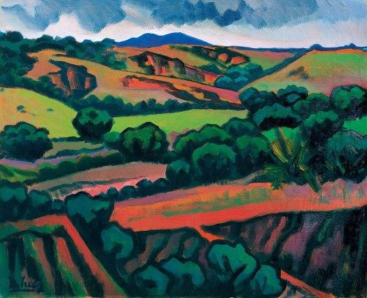 INIMÁ de Paula, As Terras de Minas, óleo s tela, 1983, 81 x 101 cm