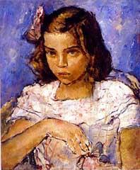 henriquecavalleiro, Menina, osm,1940 - 54 x 45 cm