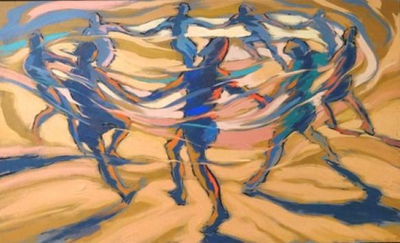 MARÇAL ATHAYDE (1963) - Brincadeira de roda, o.s.t. 0,75 X 1,24 m.