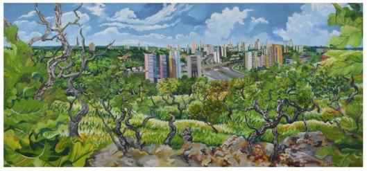 paisagem do cerrado e cuiaba - Benedito Nunes1,Benedito Luís Nunes (Cuiabá, MT, 1956)ost