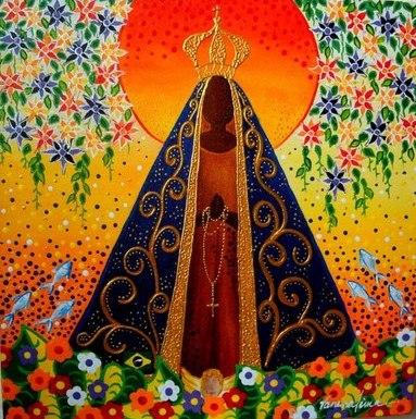 Vanessa Lima, Nossa-Senhora-Aparecida, ast, 30 x 30cm