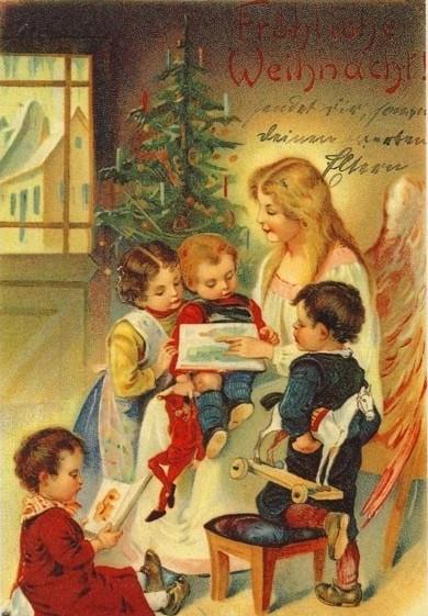 53f9a9e4c7f757a636c89253b7e820f7--christmas-postcards-vintage-christmas-cards
