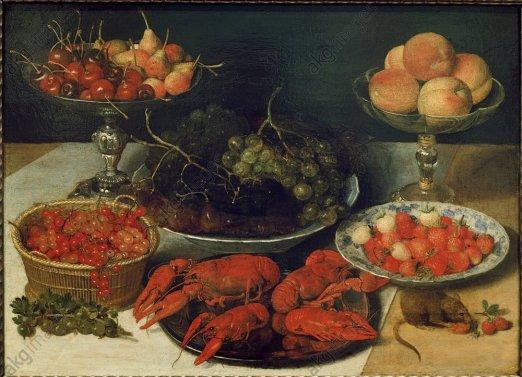Georg Flegel, Obst und Krebse - Georg Flegel / Fruit and Crabs -