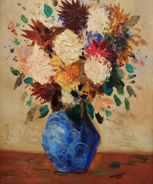 Flores, 1947.portinari, ost,coleção castro maia.