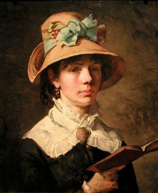 Amanda_Sidvall_-_selfportrait.JPGAmanda Carolina Vilhelmina Sidwall, (Suécia, 1844—1892)