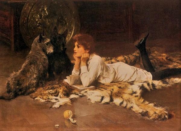 Imagem de leitura — Arthur Wardle — Peregrinacultural's Weblog