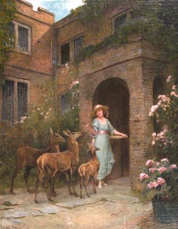 lady,deer