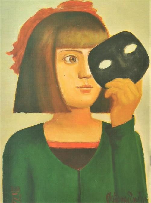Adilson Santos, (Brasil, 1944) Menina com a máscara