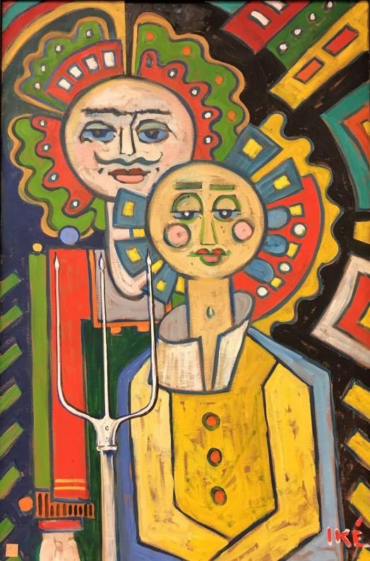 Ike Tennessee Parker (Alemanha-EUA, 1906-2000) ost, 92 x 67 cm