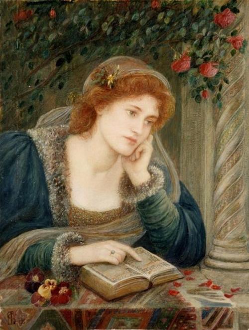 Marie Spartali Stillman (1844 – 1927) Beatrice, 1895