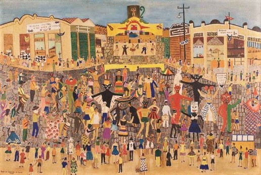 Rosina Becker do Valle,Carnaval,ost,1956, 63 x 96 cm