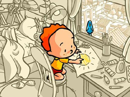 colorindo, Marli Soares Borges, aquarela_01