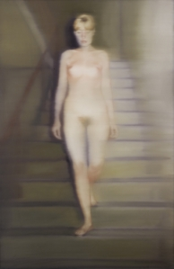 Gerard Richter, Ema (Akt auf einer Treppe) Ema (Nude on a Staircase). 1966 200 cm x 130 cm Oil on canvas. Collection Associated Works ...