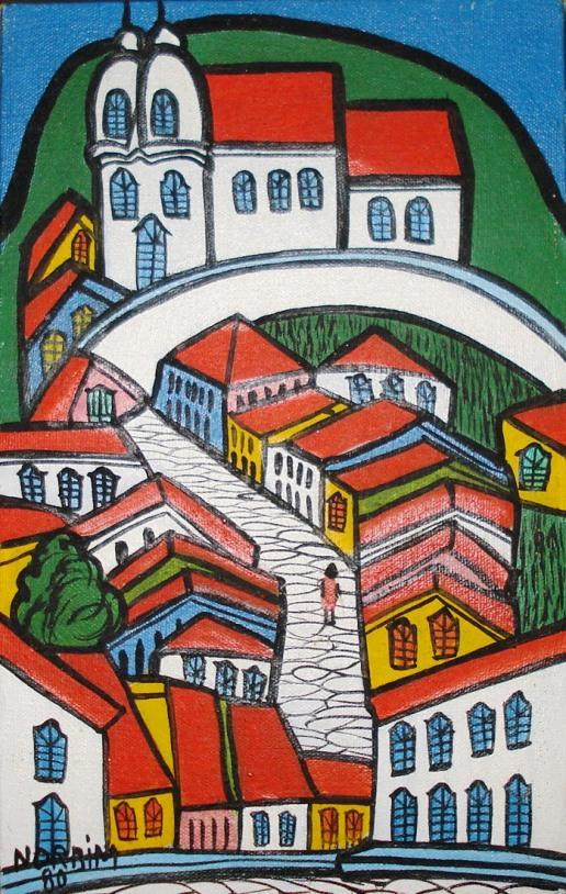 igreja e cidade