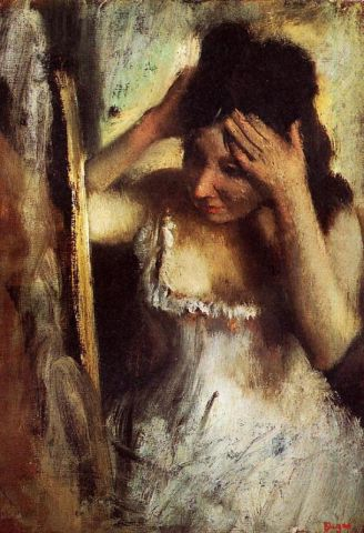 03-woman-combing-her-hair-in-front-of-a-mirror degas