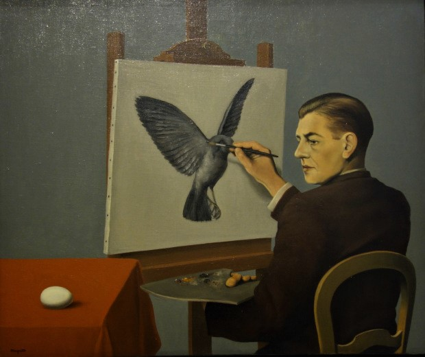 Magritte, a clarividencia, 1936