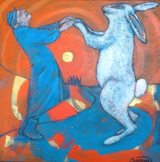 Simon Taylor, O velho e o coelho,