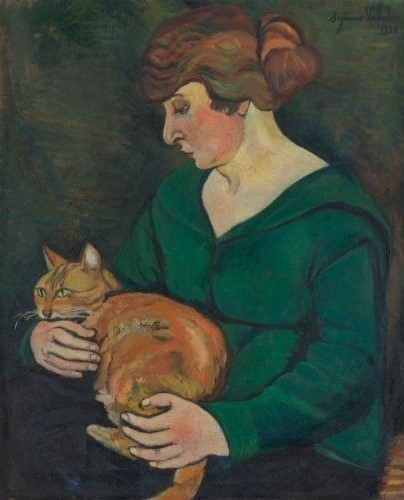Suzanne Valadon (França, 1865-1938)Louson e Raminoou, 1920, ost, 60 x 48 cm