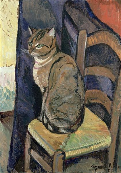 Suzanne Valadon study-of-a-cat-1918.jpg!Large