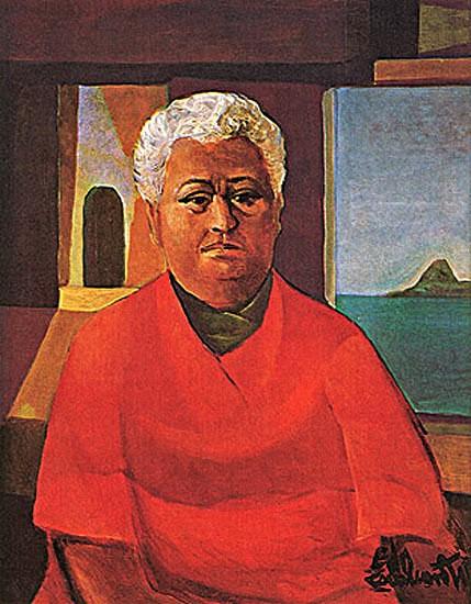 Auto-retrato, di Cavalcanti, 1969 -(Coleção Gilberto Chateaubriand - MAM RJ
