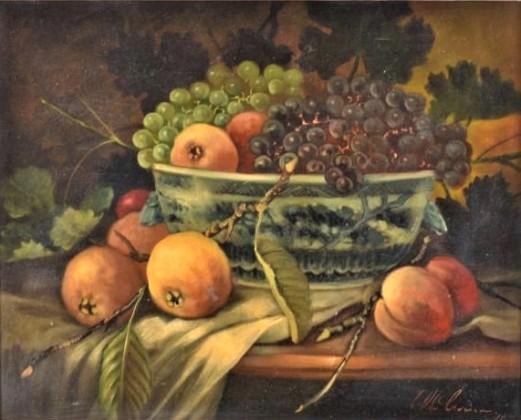 CELSO OLIVEIRA - Natureza Morta óleo sobre tela, 40 x 50 cm. Assinada e datada no canto inferior direito, 1994.
