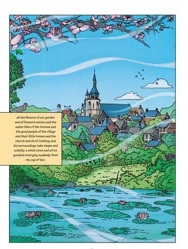 Combray, à procura do tempo perdido, por Stéphane Heuet. 1998