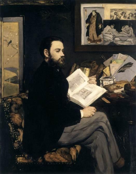 Emile Zola, par Manet