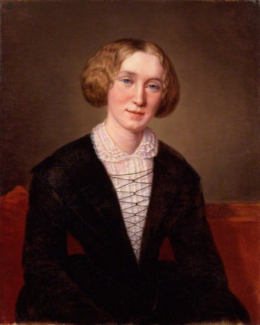 George Eliot by Alexandre Louis François d_Albert Durade
