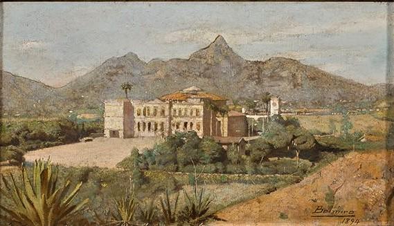 Belmiro de ALmeida, Palácio de São CRistovao, 1894