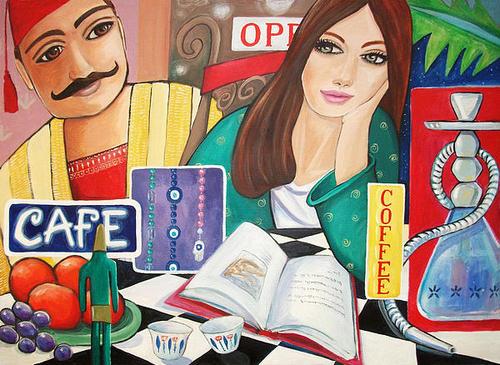 nancy-salamouny, Beirut Café