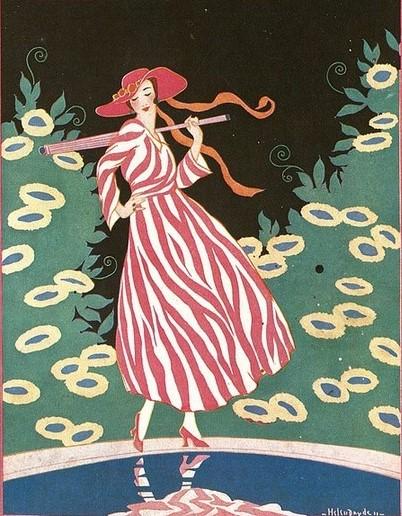 Primavera, Helen Dryden, Vogue, 1911