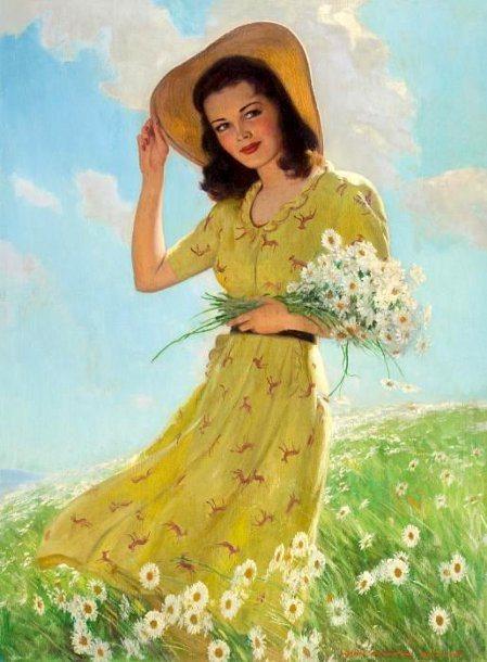 primavera, John Newton Howitt (1885 – 1958)