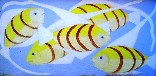 Djanira da Motta e Silva (1914-1979) peixes