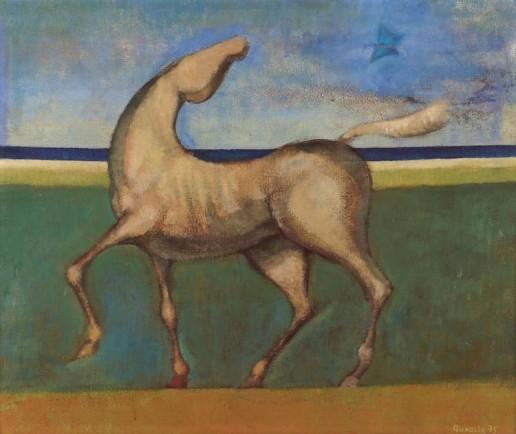 João Quaglia, nobreza animal, ost, 1975, 50 x 60cm