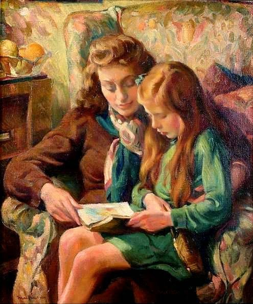 Miguel Mackinlay (Spain, 1895 - 1958)Laurie and Theresa, the artist's daughters