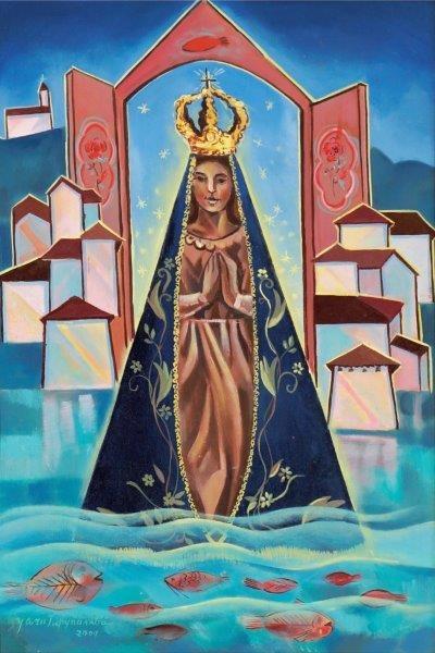 Yara Tupynambá,Nossa Senhora Aparecida – ost,2004 - 70 x 50