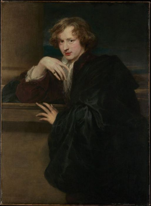 Anthony van Dyck (1599–1641) Self-Portrait, ca. 1620–21. Oil on canvas. The Metropolitan Museum of Art.