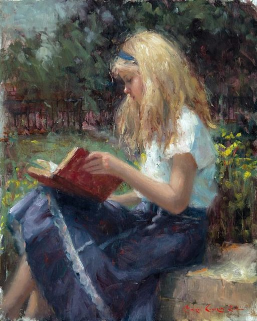 Bryce Cameron Liston, An Enchanting Tale, 2013, ost, 50 x 40 cm