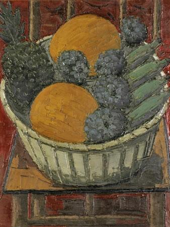 Ivan Marquetti,Cadeira com frutas OST,65 x 50 1992 ACID