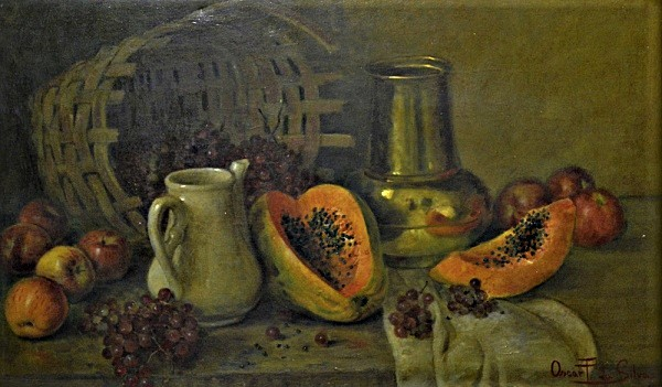 Oscar-Pereira-da-Silva-Composição-com-frutas-óleo-sobre-tela-medindo-60cm-x-101cm-1