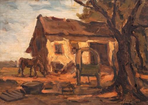 arcangelo-ianelli-arredores-de-santo-amaro, 1940, -oleo-sobre-madeira-32 x 45 cm