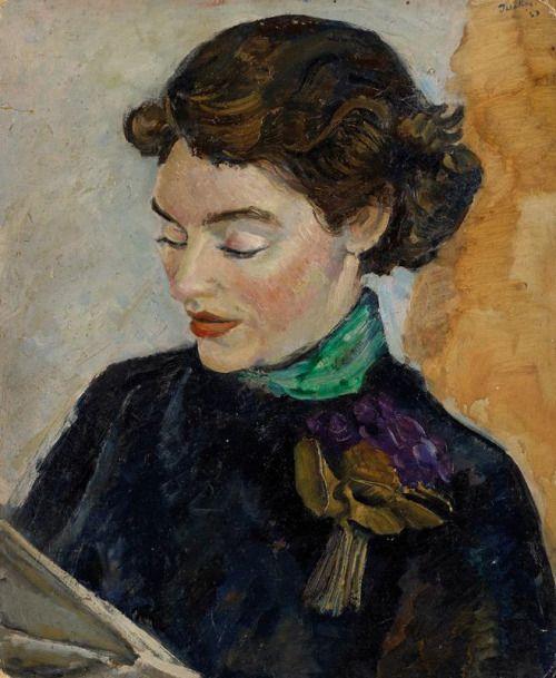 retrato de molly o_ dea, 1937