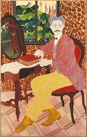 Danielle Akmen (França, 1945) , a girafa