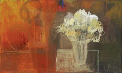 Fátima Pena,Vaso de flor – ost,2007 - 90 x 150