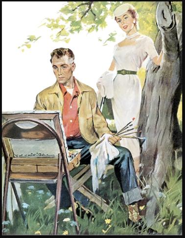 pintor Ernest Chiriaka