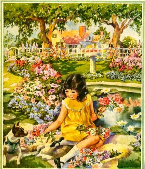 Primavera Better Homes and Gardens 1929-07